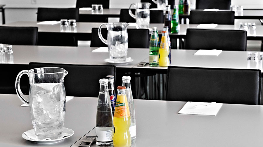 Have refreshments served at your meeting